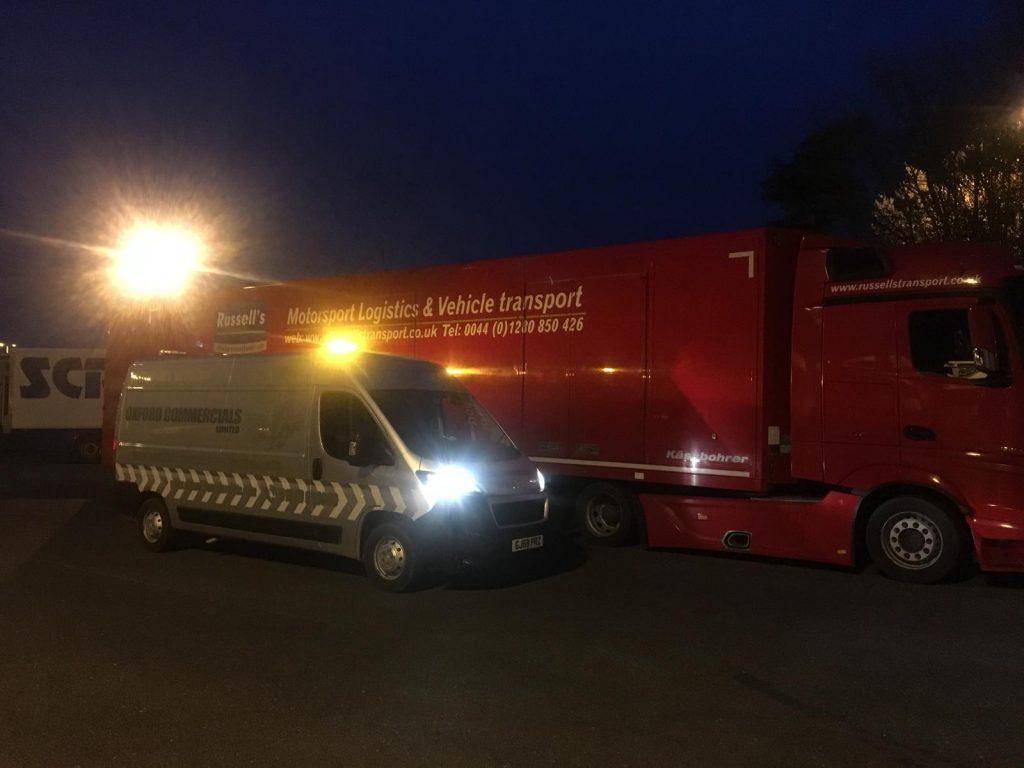 Mercedes Cassington Breakdown Roadside assistance Scania Unit HGV Truck